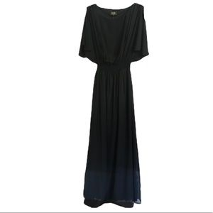 Laundry by Shelli Segal 8 Cold Shoulder Maxi Dress